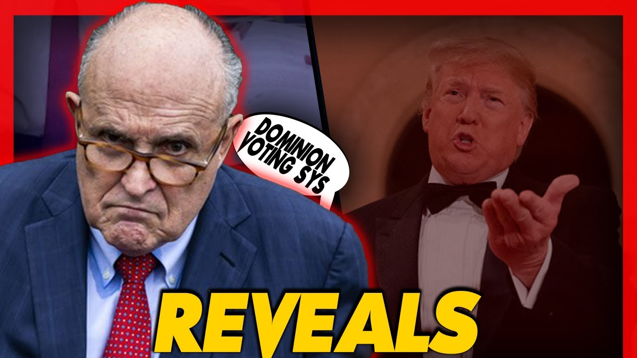 """Giuliani Revealed Issues On Dominion voting Software & President Trump Claims """"He Concedes Nothing."""""""