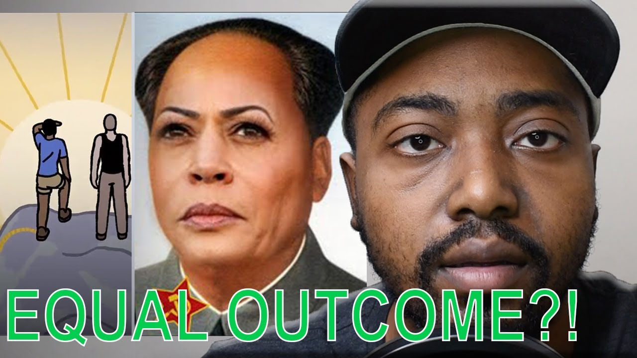 Kamala Harris Releases Equal Opportunity vs Equal Outcome Ad Promoting Far Left Marxist Agenda