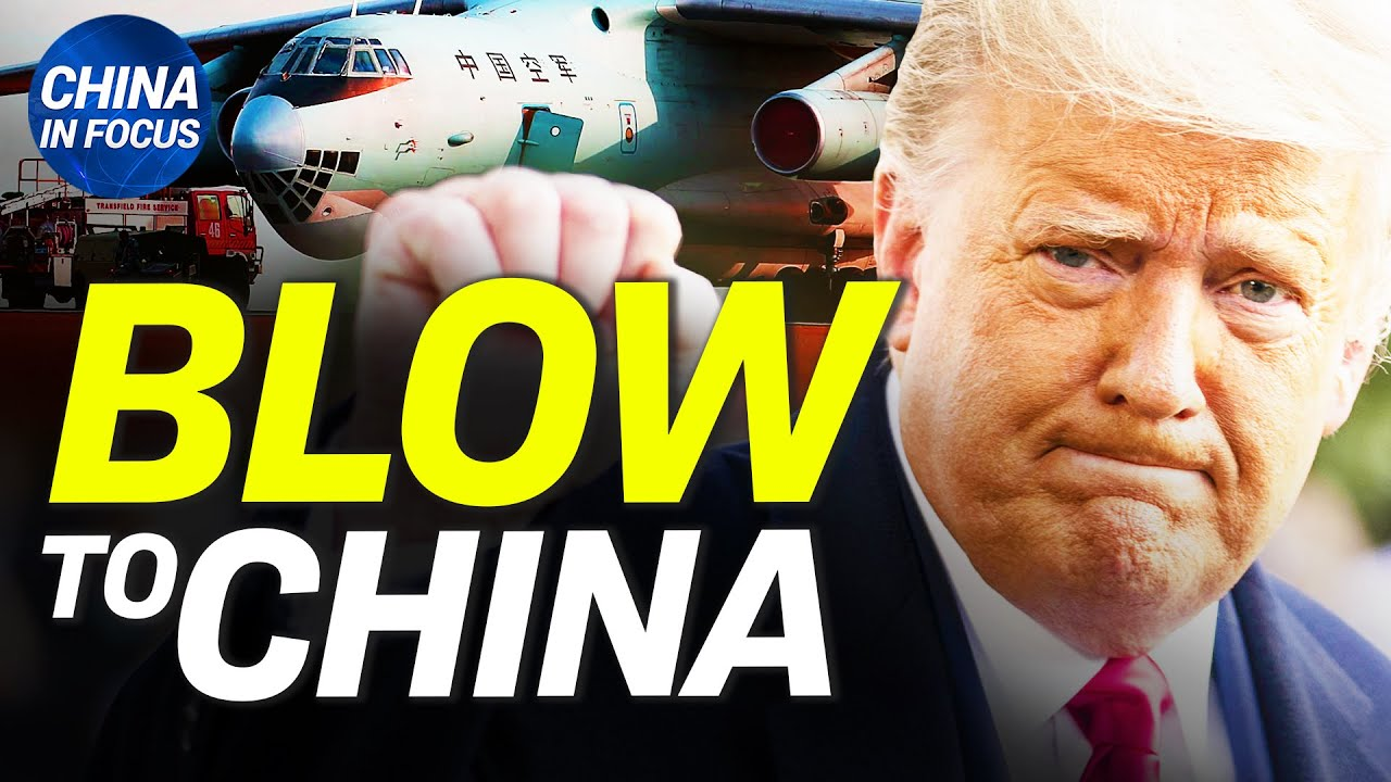 Trump's new order is a huge blow to China; Chinese factory explodes, killing many