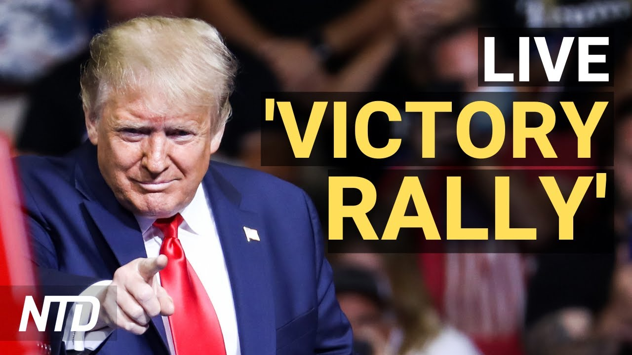 LIVE: Trump holds 'victory rally' in Valdosta, Georgia (Dec. 5)