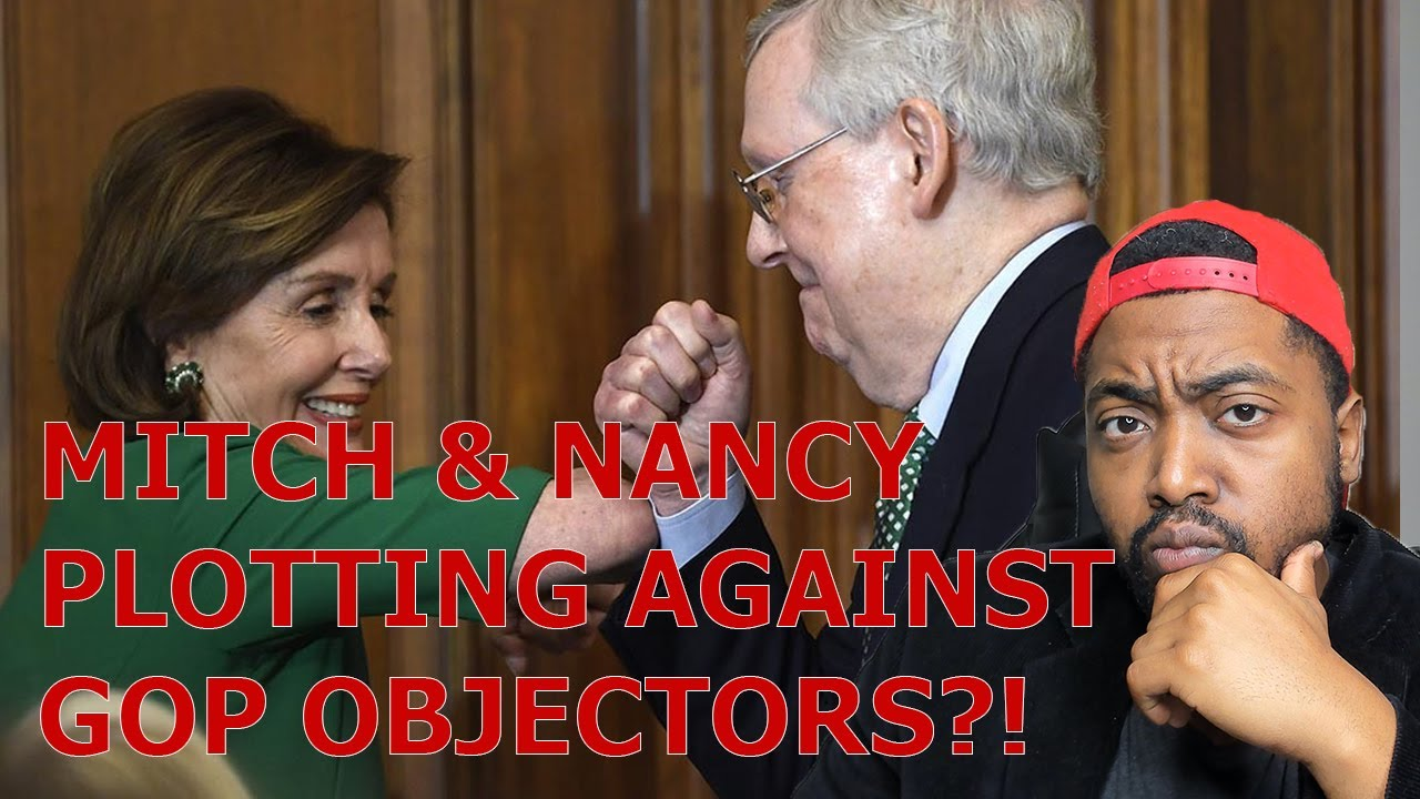 RUMOR: McConnell & Pelosi Plan To Stop GOP Electoral College Objectors! Mitch & Chao's Ties To CCP!