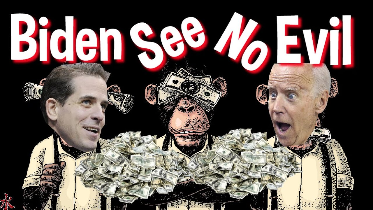 HUNTER BIDEN CASTS LONG SHADOW OVER BIDEN PRESIDENCY !!