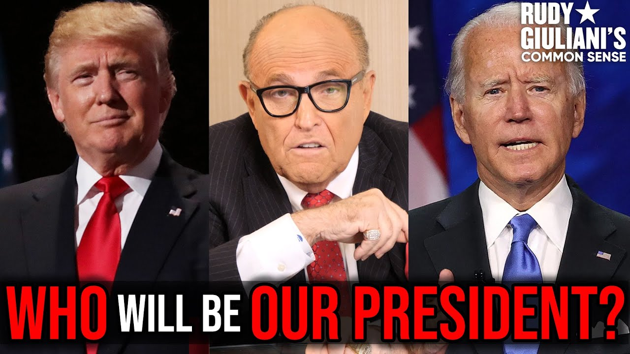 WHO Will Be Our PRESIDENT? The Current State Of Our Country | Rudy Giuliani