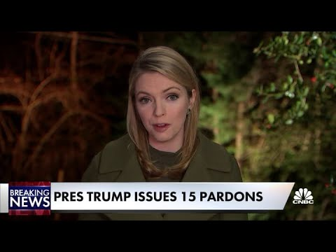 President Trump issues 15 pardons, including two Russia figures and Blackwater guards