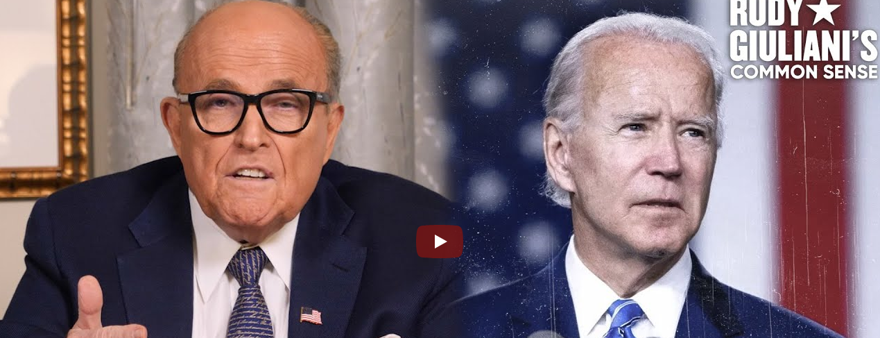 Joe Biden: Top Of The BIDEN CRIME FAMILY Totem Pole by Rudy Giuliani