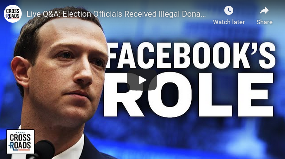 Election Officials Received Illegal Donations from Zuckerberg?