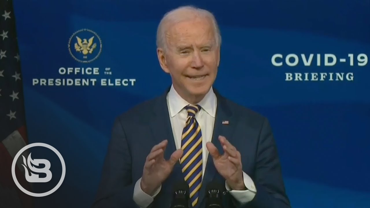 Biden Goes on Deranged Rant Attacking Trump Over COVID-19 Vaccine Not Coming Fast Enough