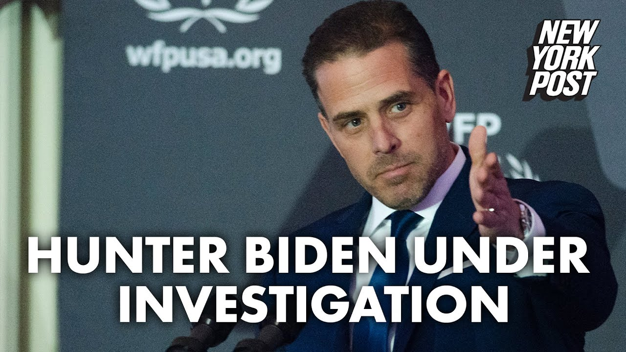 Hunter Biden under federal investigation for possible tax fraud
