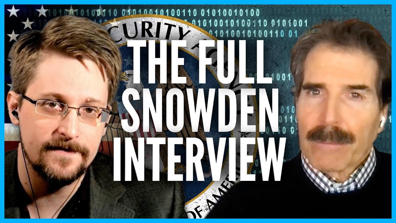 The FULL Snowden Interview