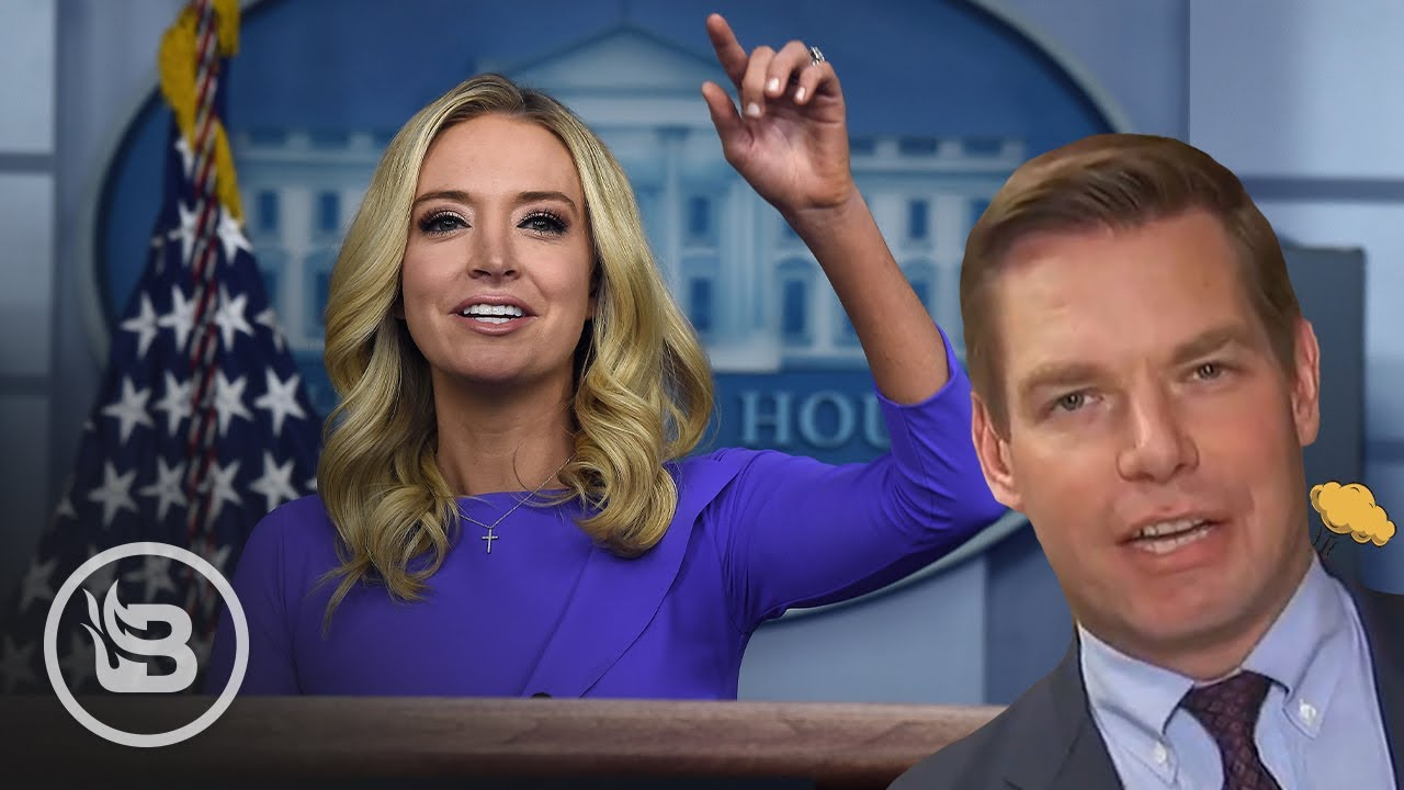 Press Sec. ENDS Eric Swalwell's Whole Career over Chinese spy honey