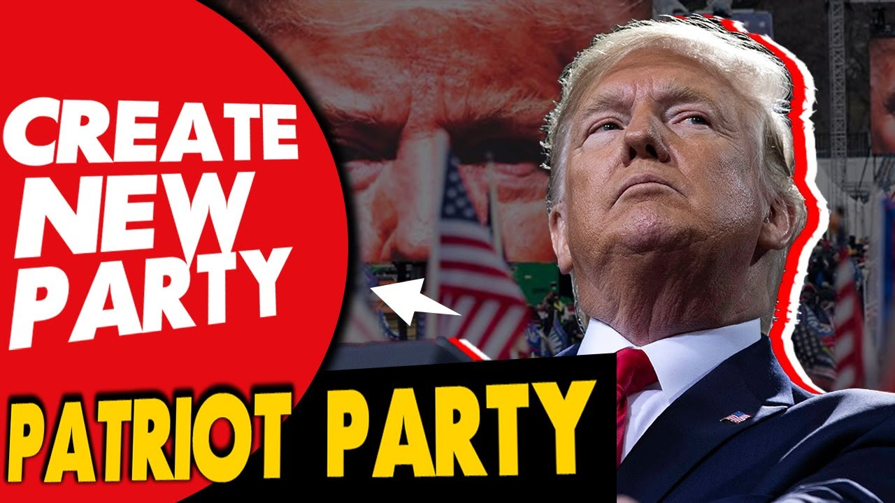 President Trump Wanna Create A New Party (Due to A Hard time w/ Republicans Lawmakers ex: McConnell)