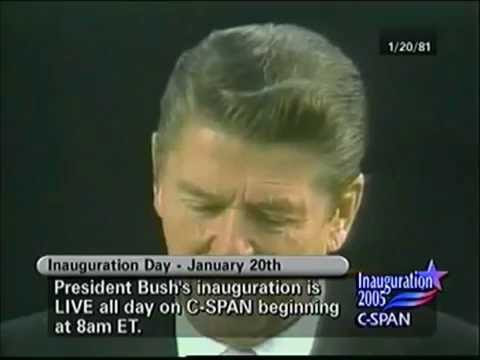 """RONALD REAGAN: """"GOVERNMENT IS THE PROBLEM"""""""