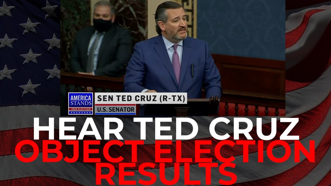 Ted Cruz Stands to OBJECT Election Results | Statement