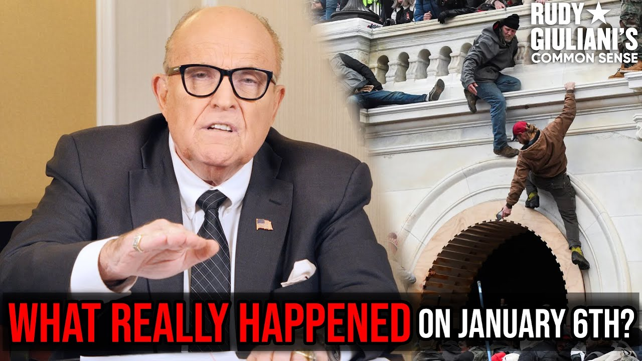 WHAT REALLY HAPPENED On January 6th? | Rudy Giuliani
