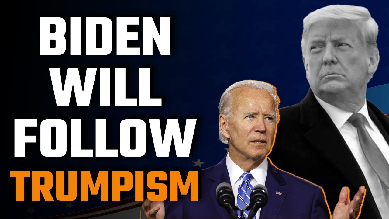 If Biden doesn't play by Donald Trump's rules, things are going to get messy – the De-Classification of the Indo-Pacific Agreement.