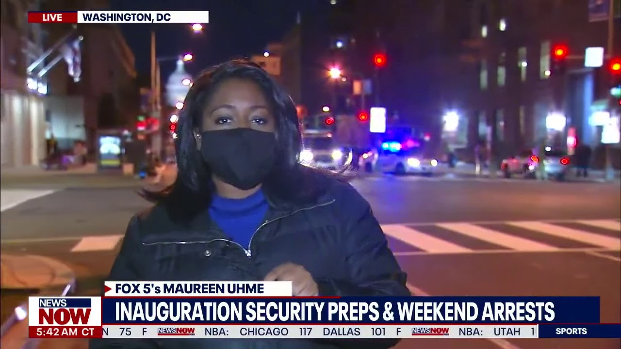 Security Measures in DC Just two days away from Inauguration