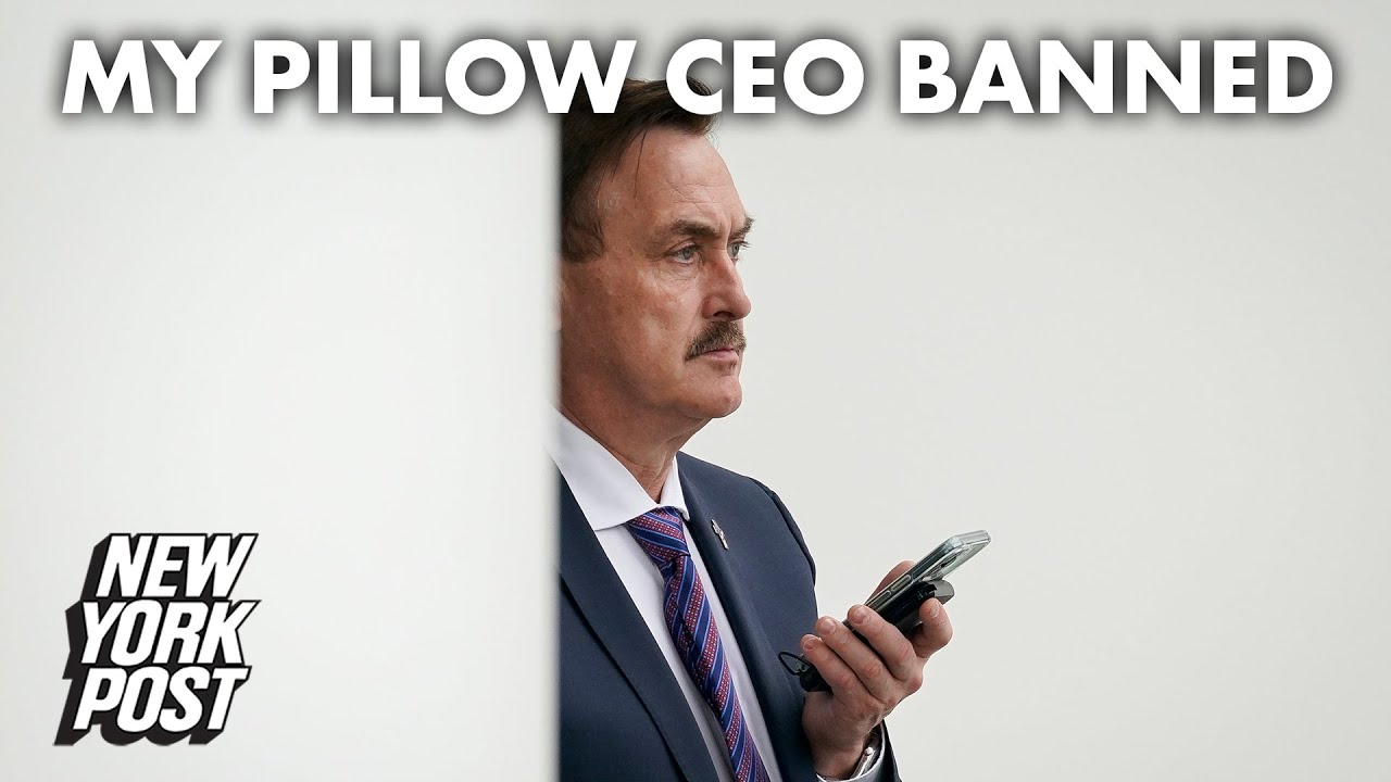 My Pillow guy Mike Lindell permanently banned from Twitter
