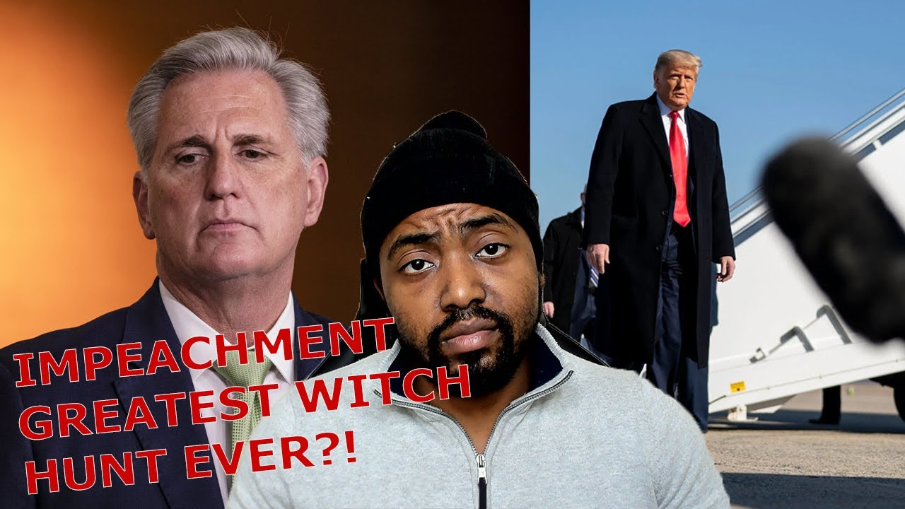"Trump Speaks Out After Being Censored By Twitter! Calls Impeachment Talk By Democrats A ""Witch Hunt"""