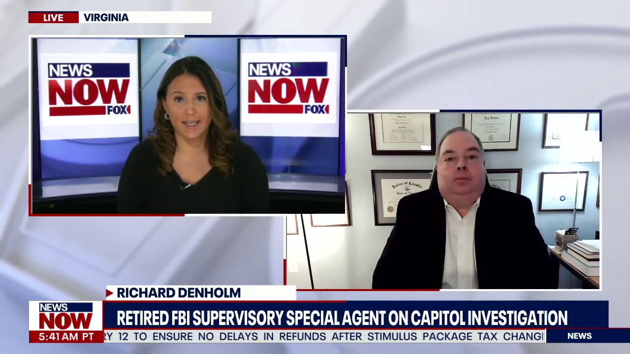 Retired FBI Supervisory Special Agent Explains Scale of Capitol Investigation, Inauguration Day