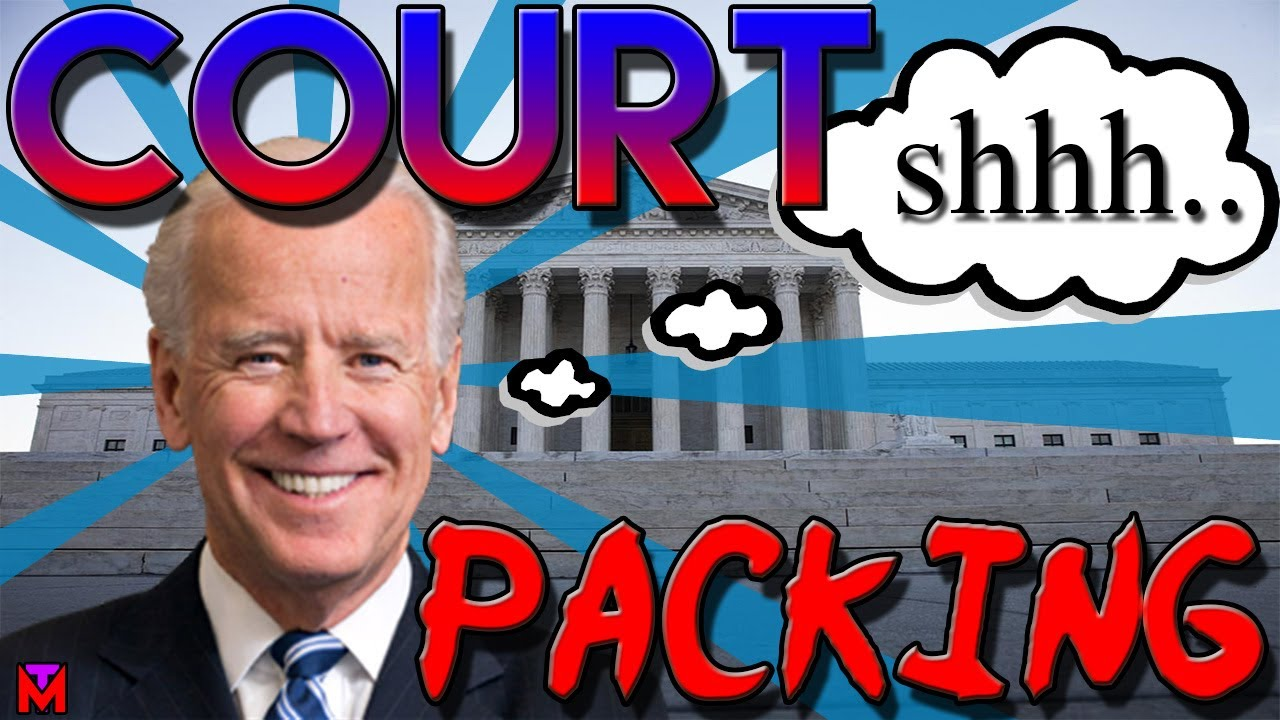 BIDENS PLANS FOR COURT PACKING: Ben Shapiro, Joe Biden, Kamala Harris, Mike Pence !!