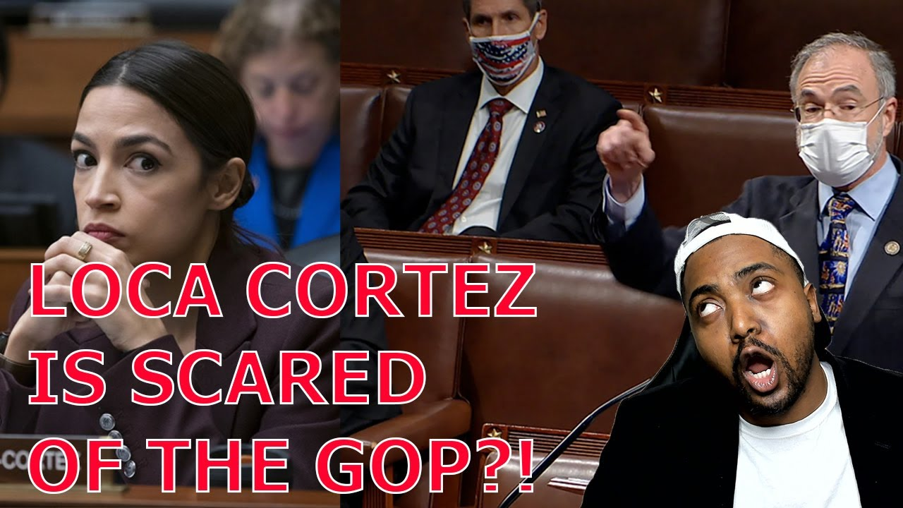 AOC Says She Feels Her Life Is In Danger Because GOP Congressmen Want To Defend Themselves.