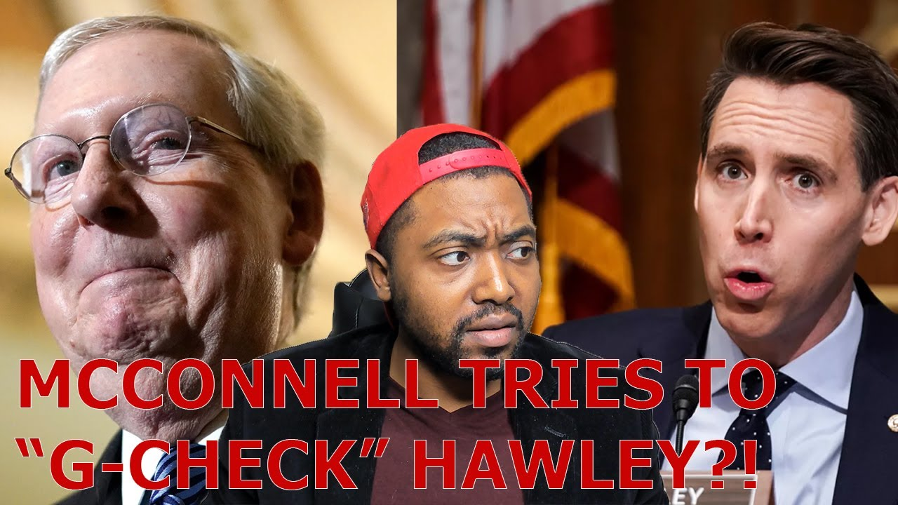 Congress OVERRIDES Trump NDAA Veto As McConnell Tries To G CHECK Josh Hawley For Objecting Jan 6th!