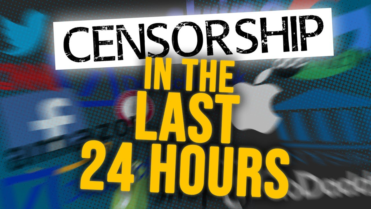 This list shows American censorship is OUT OF CONTROL