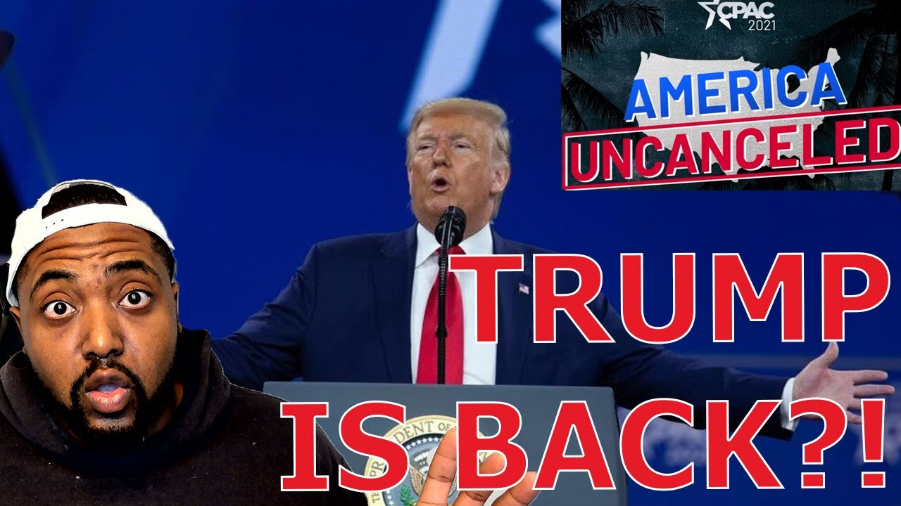 Trump To Announce He Is The PRESUMPTIVE 2024 GOP Nominee & Leader In Upcoming CPAC 2021 Speech?!