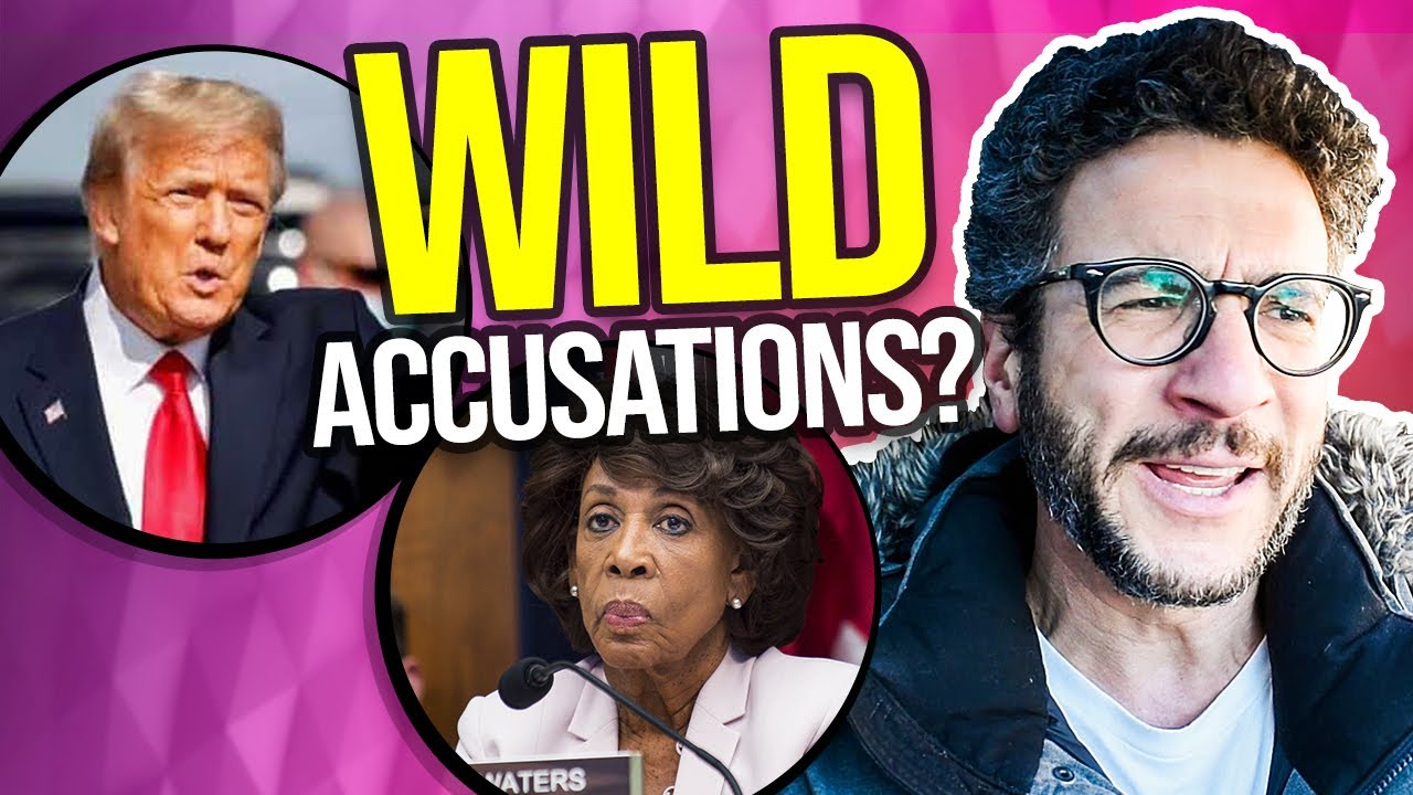 Maxine Waters' WILD Accusations Against Trump
