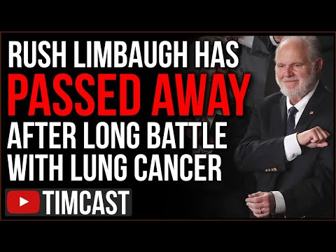 Rush Limbaugh Has Passed Away, Leftists Post Vile Attacks Against Him Gloating Over His Passing