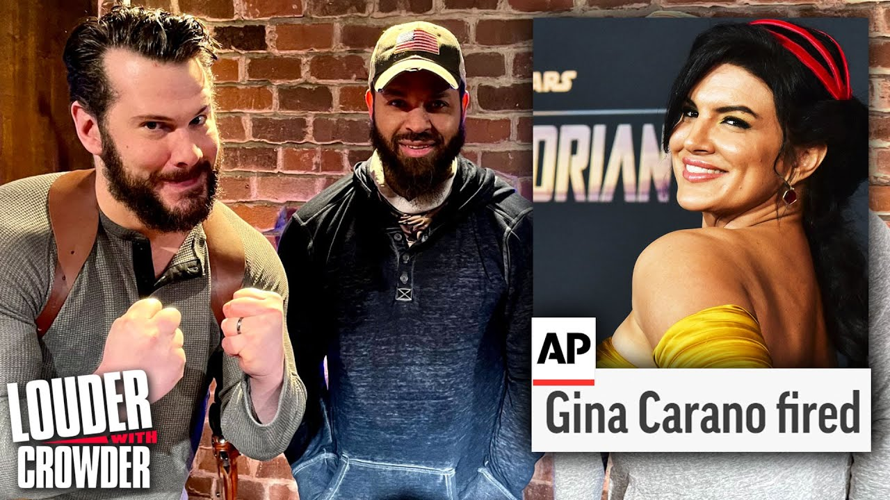 Cancel Gina Carano? Go Screw Yourselves…   Louder with Crowder