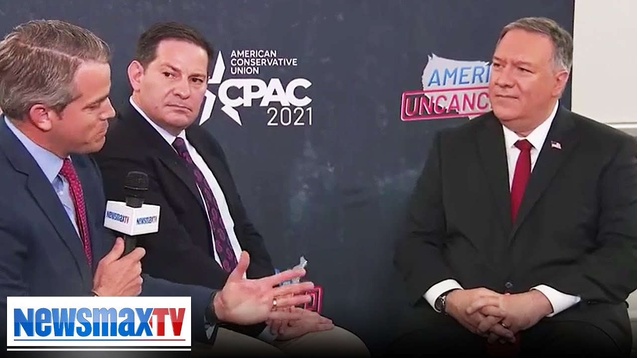 Pompeo: I'm staying in the fight; future VP run? | CPAC EXCLUSIVE