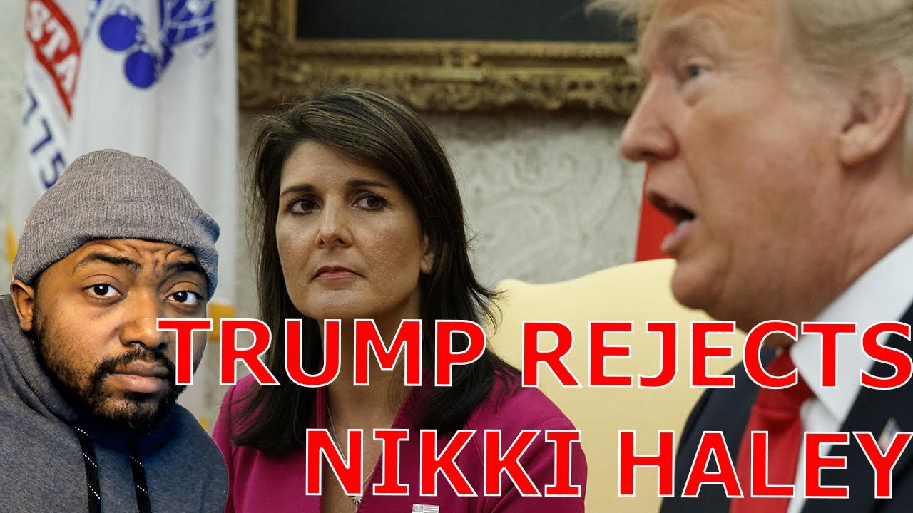 Trump STIFF ARMS Meeting With Nikki Haley As She Blames Liberal Media For GOP Civil War!