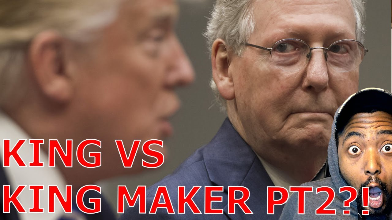 Trump ROASTS Mitch McConnell As Dour, Sullen & Unsmiling Political Hack In Impeachment Letter To GOP