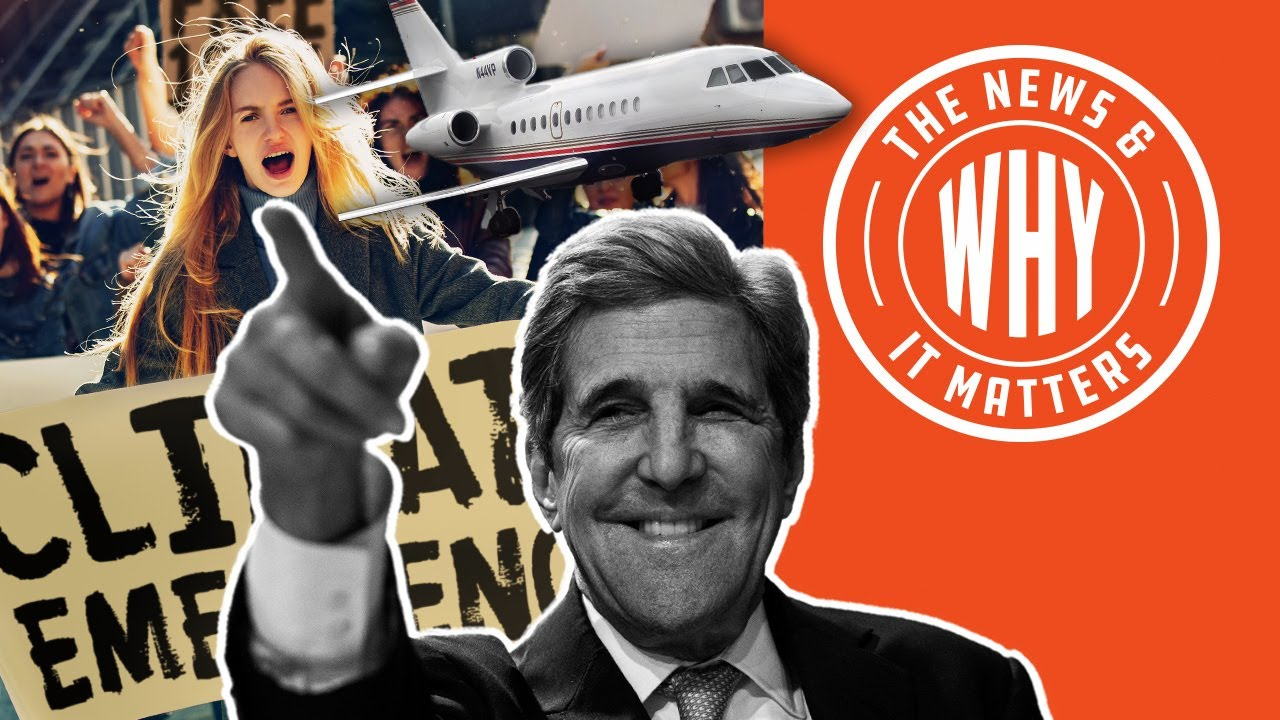 Biden's CLIMATE CZAR Excused Private Jet to Get Climate Award!