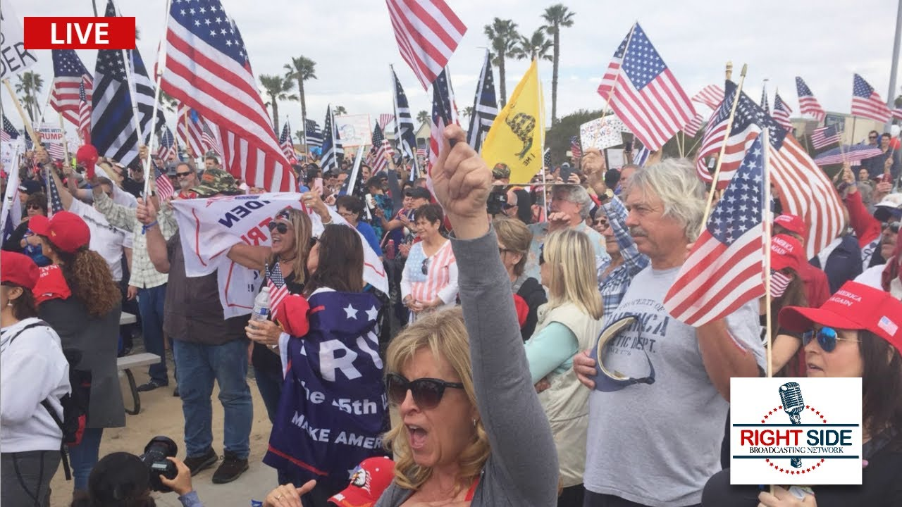 LIVE: Pro Trump Celebration in West Palm Beach, FL on Presidents' Day 2/15/21