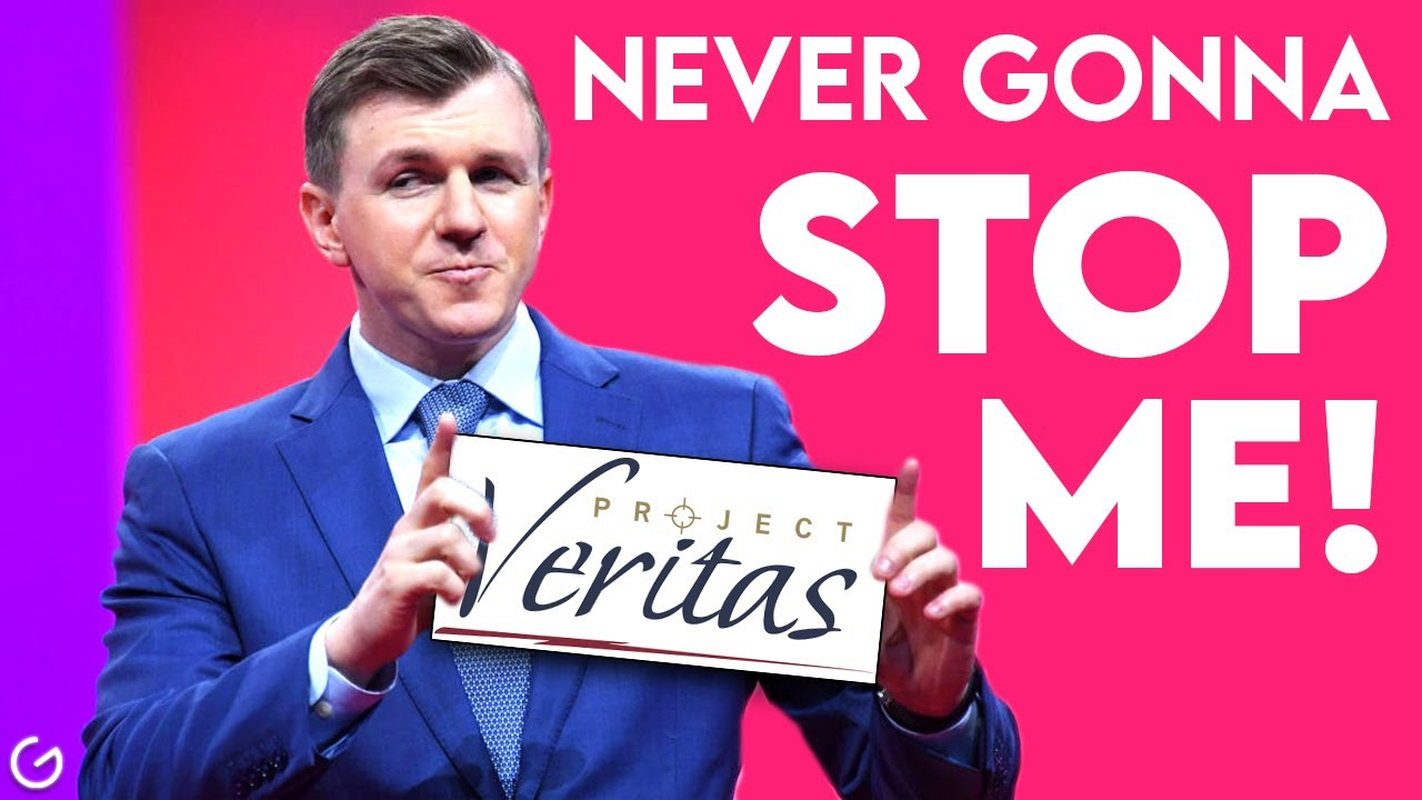 TWITTER BANS PROJECT VERITAS | JAMES O'KEEFE NOT BACKING DOWN !!