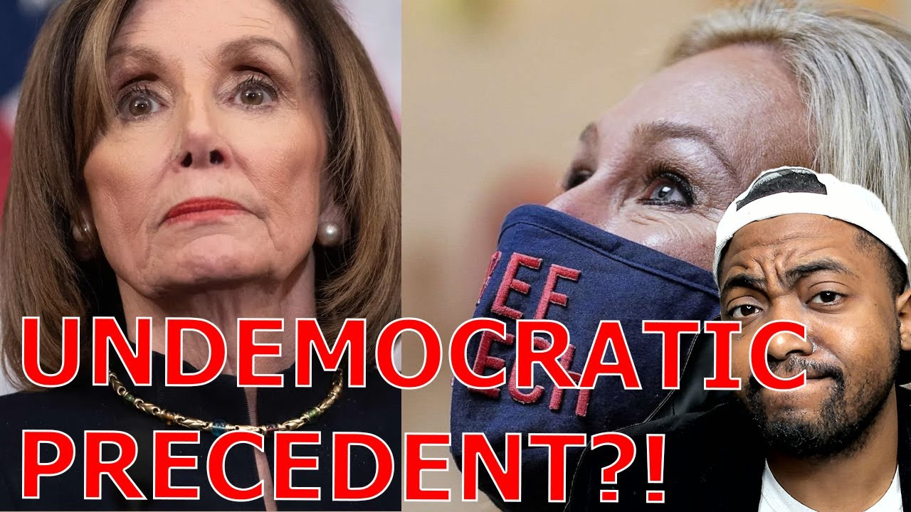 Marjorie Taylor Greene EXPELLED From House Committees! Pelosi Doesn't Care About Dangerous Precedent
