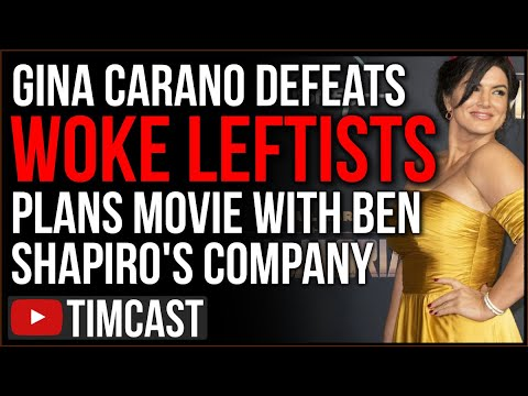 Gina Carano Is UNCANCELLED, Woke Leftist Attempt To Ruin Her Fail As Ben Shapiro Announces New Movie
