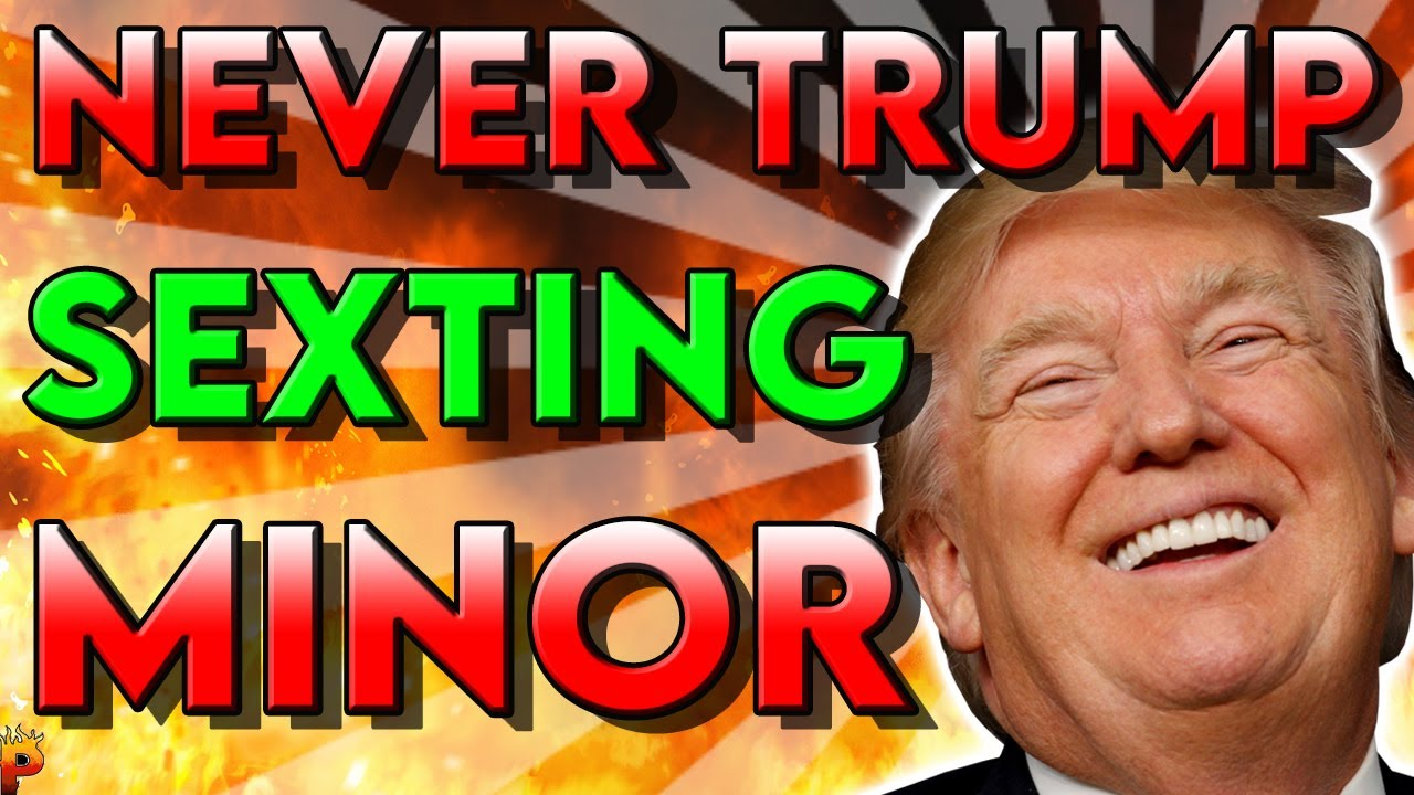 NEVER TRUMPER CAUGHT SEXTING 14y/o BOY – John Weaver, Project Lincoln