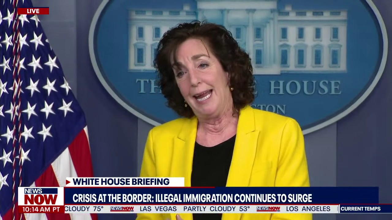 Border Is Not Open: White House says Biden is on top of illegal immigration