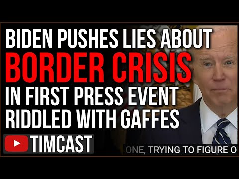 Biden Lies About Illegal Immigration In Press Conference, Democrat Policies MADE The Border Crisis