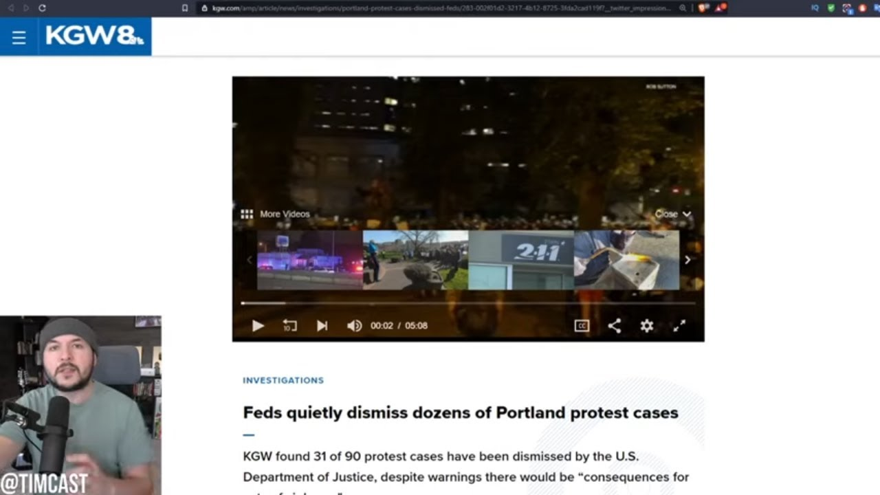 Feds Are DISMISSING Antifa Felony Charges From Mass Riots, Attorney Resigns Shortly After