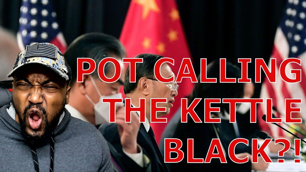 China Uses Blacks Lives Matter An Example of US Human Rights Abuses In HEATED Alaska Talks!