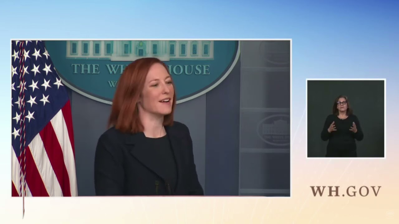 """Psaki: There Will Be """"No Federal Mandate,"""" Vaccine Passports """"Will Be Driven by Private Sector"""""""