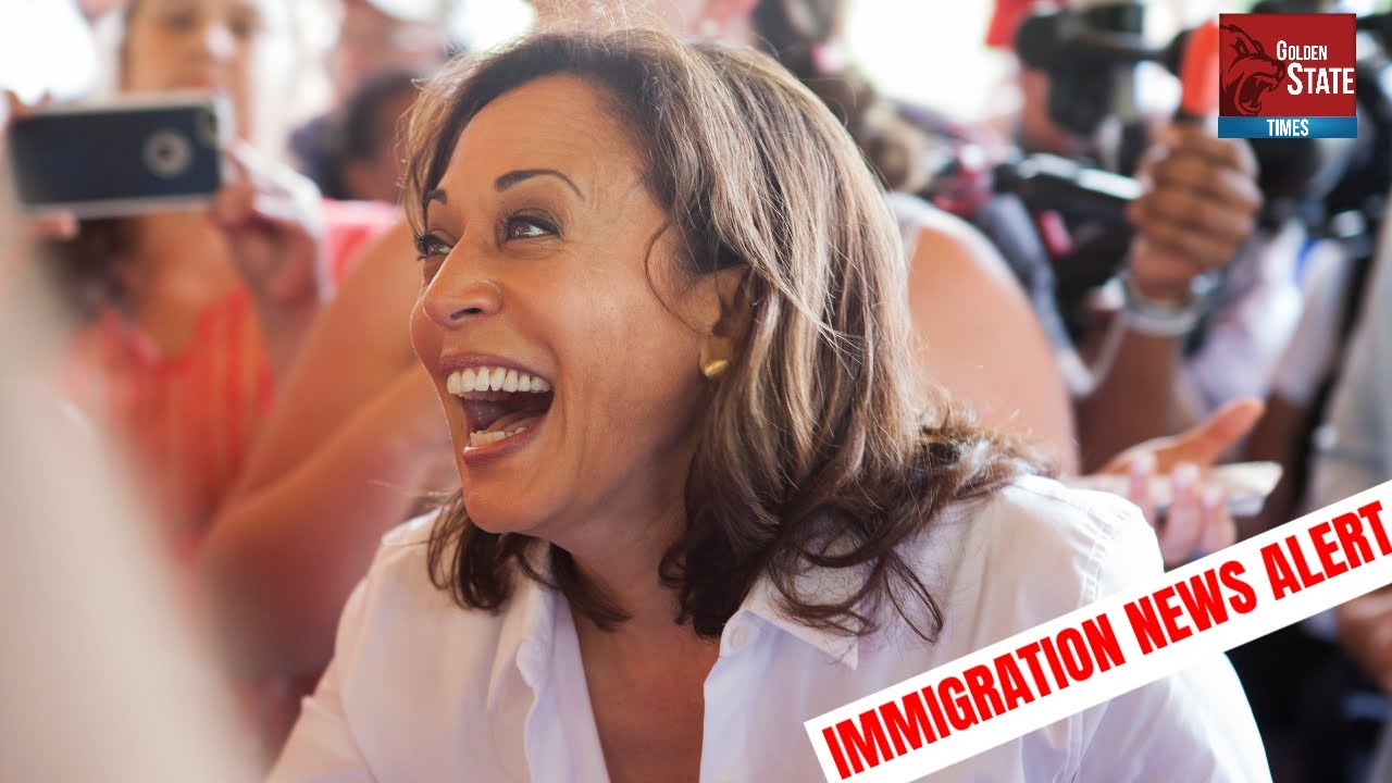 ALERT: Kamala Harris has Just Been Given UNPRECEDENTED POWERS Over Immigration and Border Security!