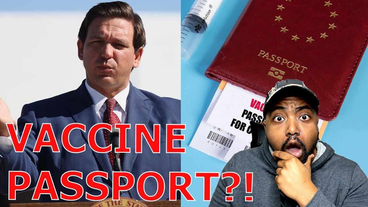 Ron DeSantis SLAMS Joe Biden's Vaccine Passport And Promises To Take Executive Action Against It