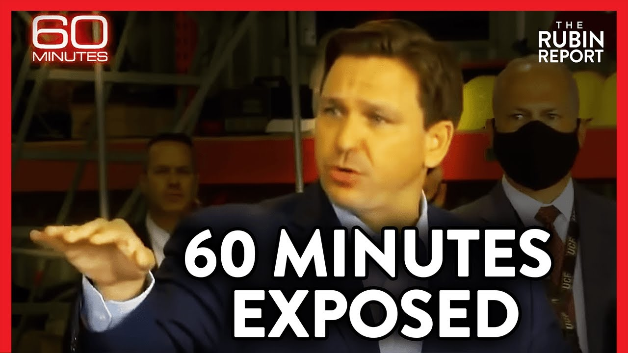 How 60 Minutes Edited Ron DeSantis's Answer to Smear Him & Mislead Viewers