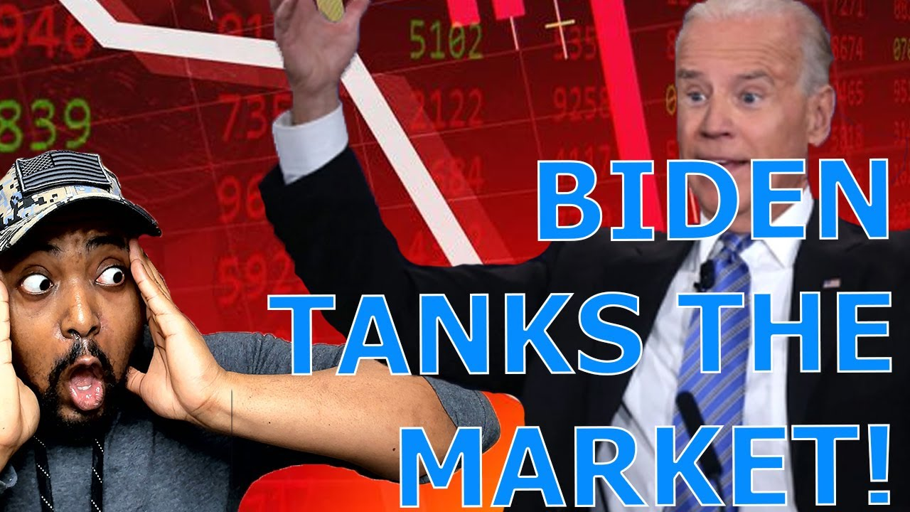 Joe Biden TANKS The Stock & Crypto Markets With INSANE 43% Capital Gains Tax Proposal!