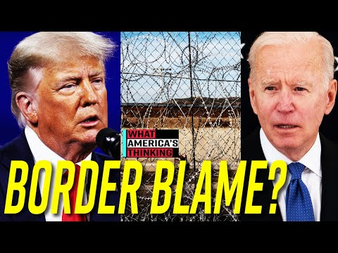 NEW POLL: More Voters Say Biden Admin to BLAME for Border Crisis